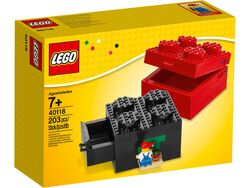 40118 Buildable Brick Box 2x2