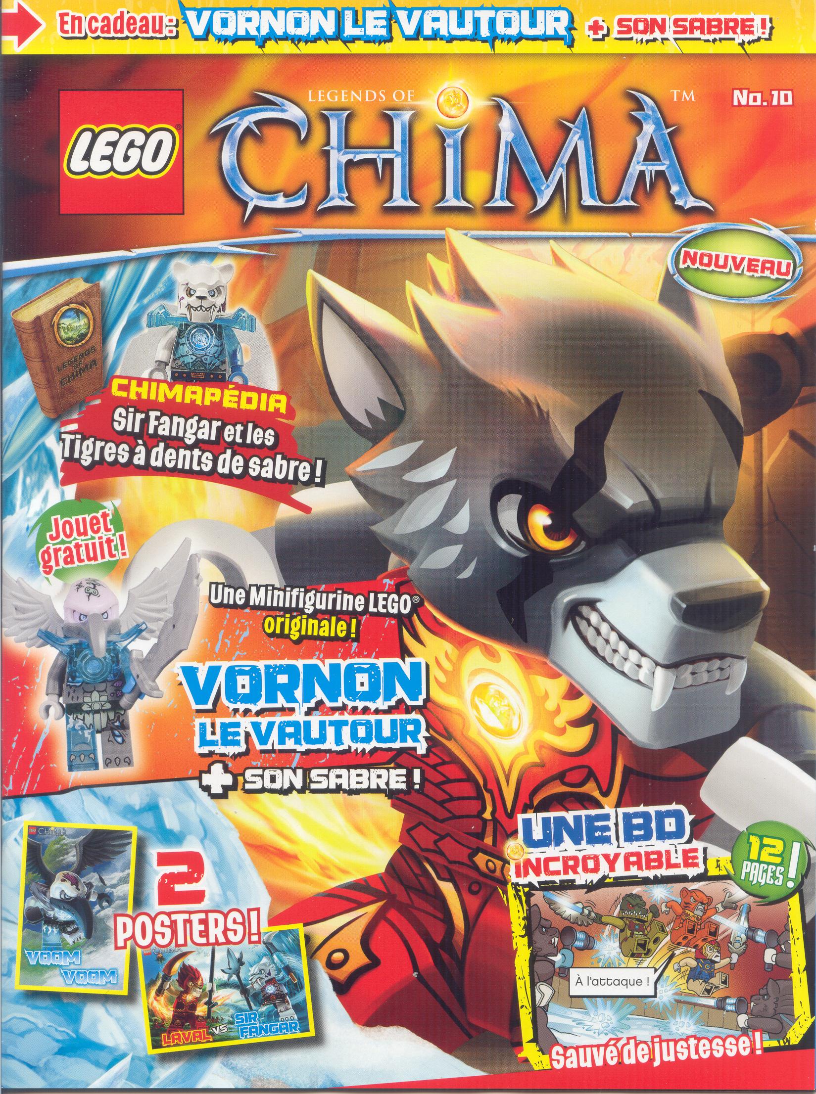 Lego chima 10 wiki lego fandom powered by wikia - Chima saison 2 ...