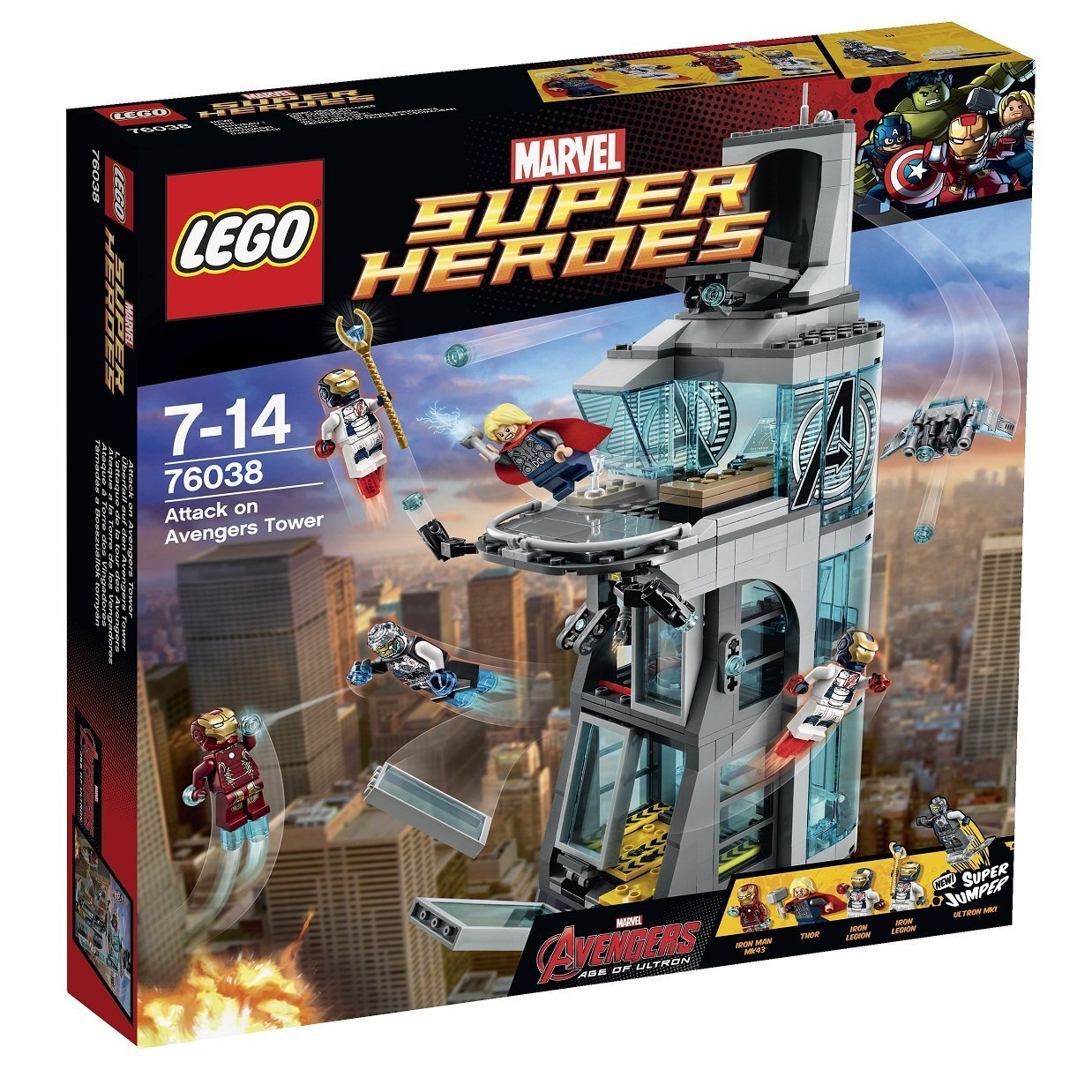76038 Attack on Avengers Tower | Brickipedia