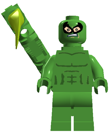 Spider Man Peter Parker In The Lego Incredibles Videogame: Custom:Scorpion (LEGOCyborg12)