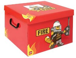 SD535red Storage Box XXL Fire Red