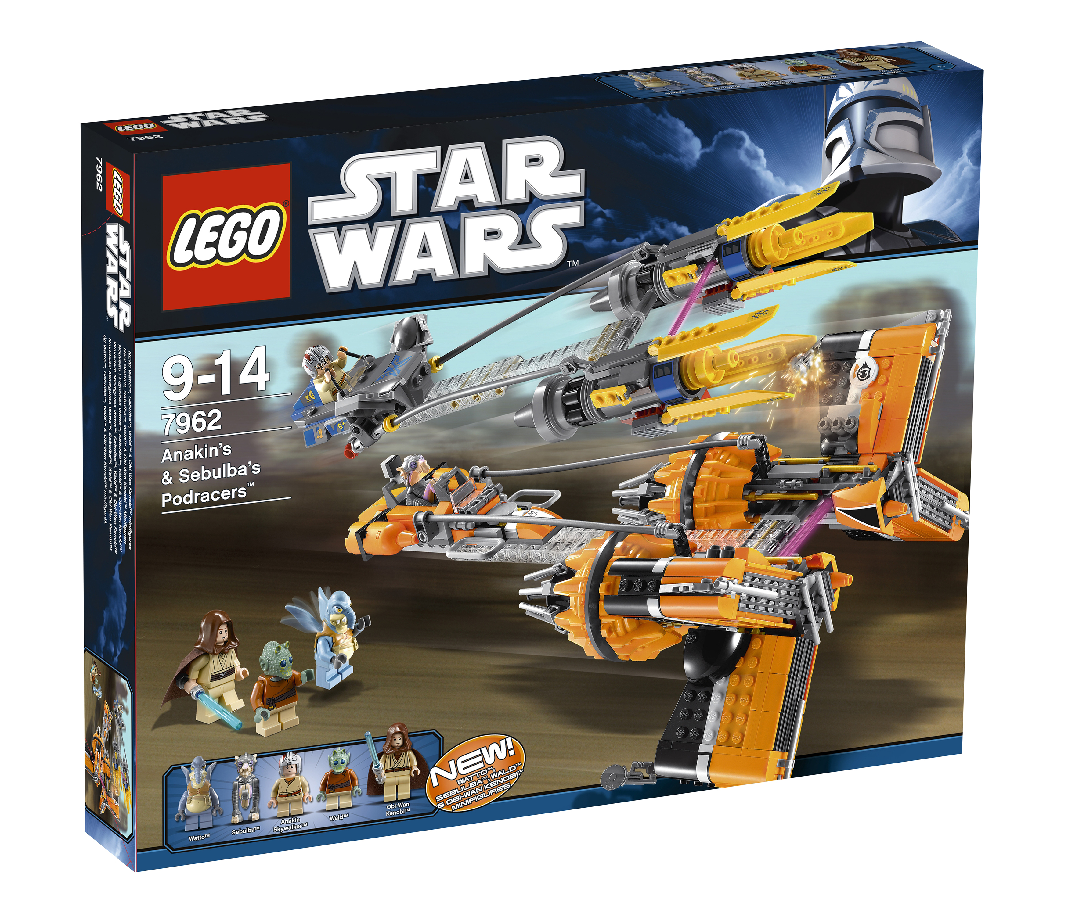 REVIEW: 7962 Anakin's & Sebulba's Podracers - LEGO Star Wars ...