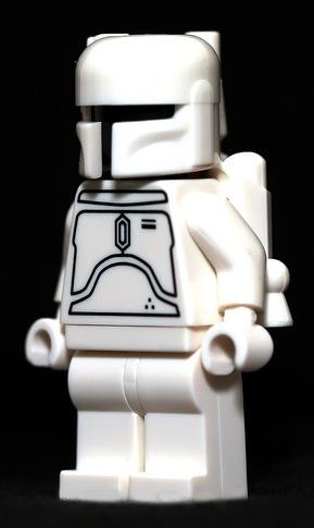 Rare Lego Pieces Boba Fett