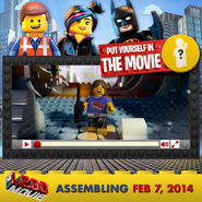 The lego movie trailer maker