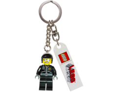 Bad cop keychain