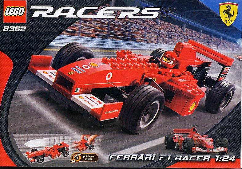 8362 ferrari f1 racer 1 24 scale brickipedia fandom powered by wikia. Black Bedroom Furniture Sets. Home Design Ideas
