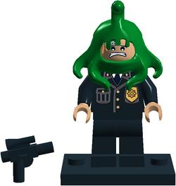 Cop with Alien (RL)