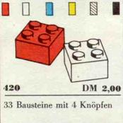 420-2 x 2 Bricks