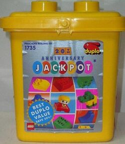 1735 20th Anniversary Jackpot Bucket