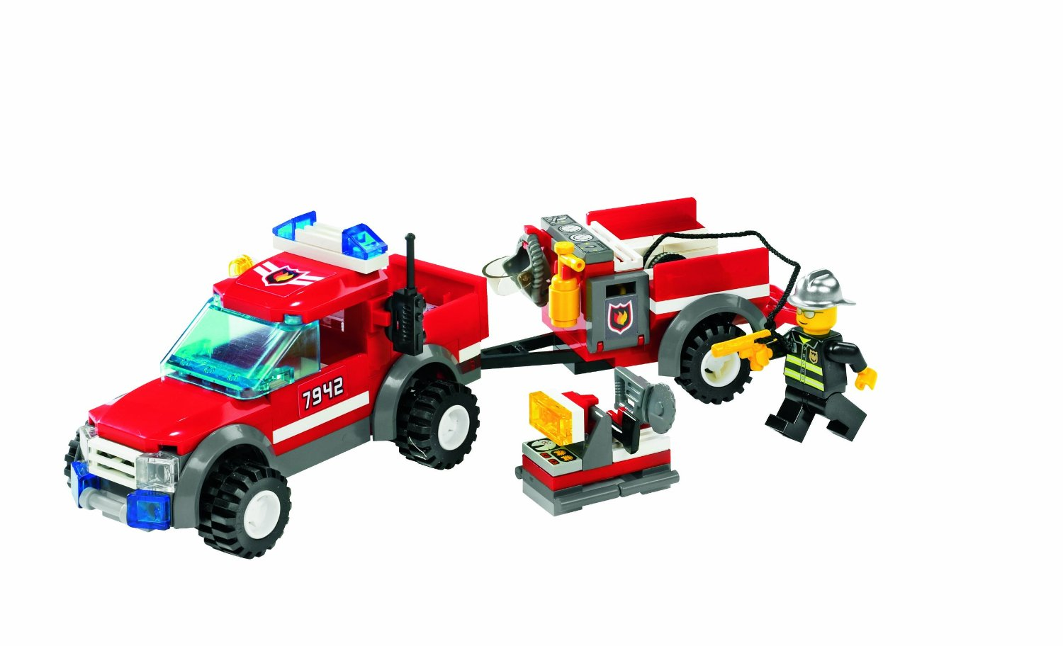 la voiture des pompiers de lego. Black Bedroom Furniture Sets. Home Design Ideas