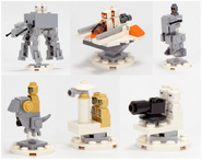 Battle of Hoth Figs on stuff