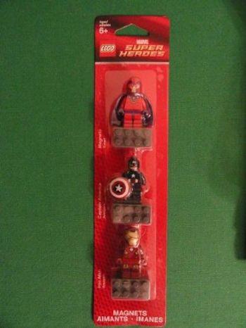 850508 captain america iron man magneto magnet set