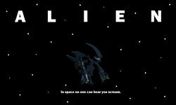LEGO Alien Poster