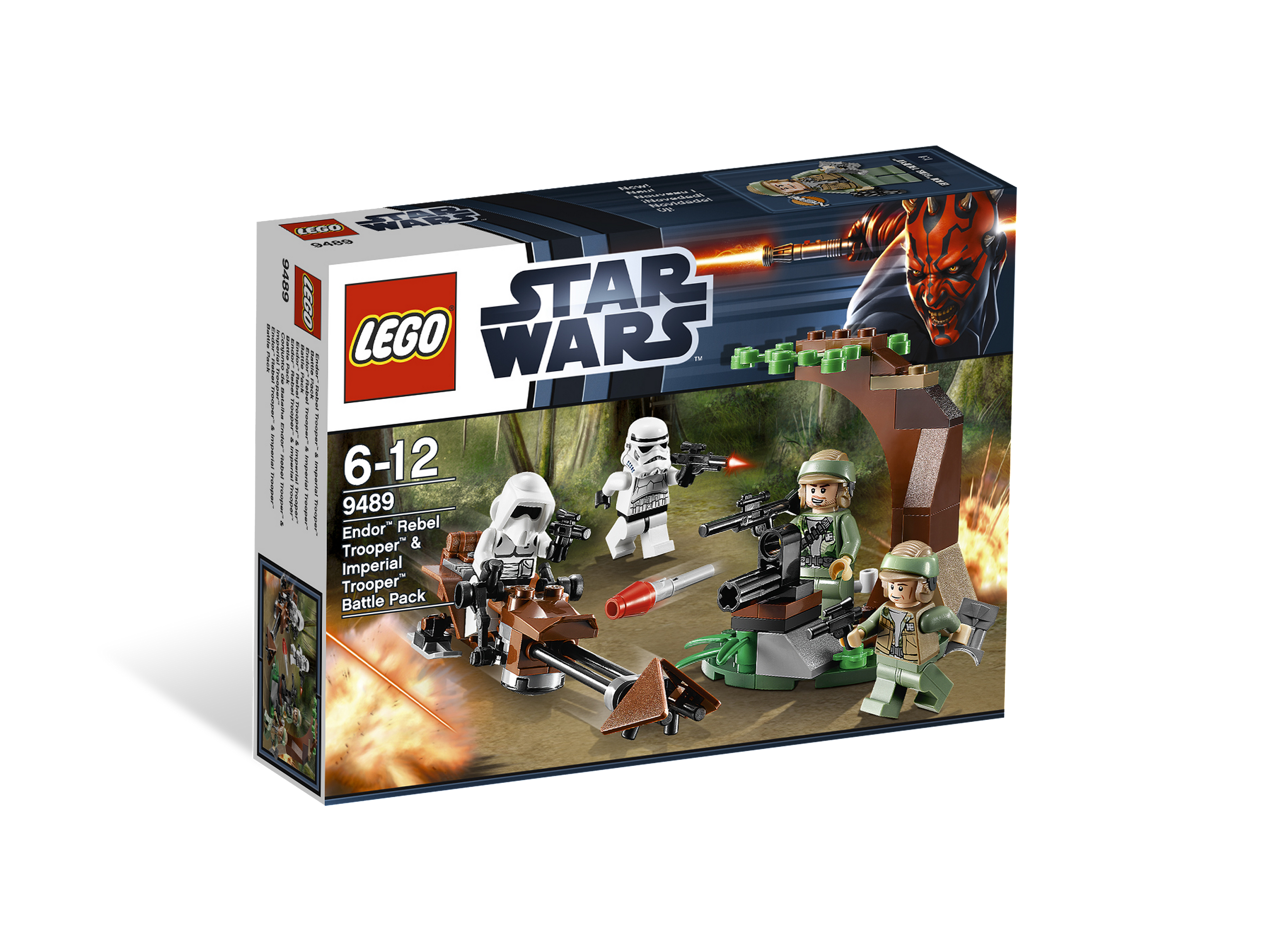 Lego Star Wars  9489  Jeu de Construction  Endor Rebel et Imperial Trooper