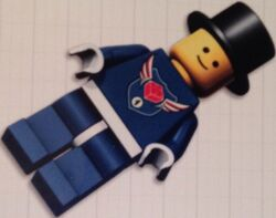 Level 4 MBA minifigure