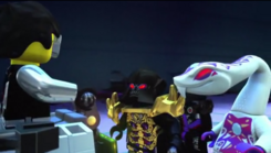 Overlord, Pythor, and Possessed Cyrus 1