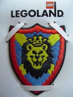 4202054-Sew-On Cloth, Knights Kingdom I, Lion Shield