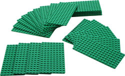 991223-Small Green Plates Pack