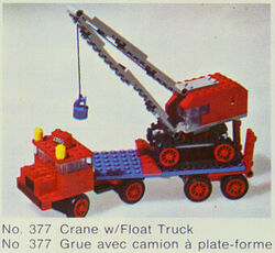 377-Crane with Float Truck