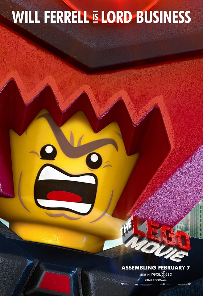 Lego Movie Lord Business Tower Lord Business in a Movie