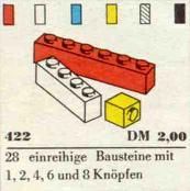 422-1 x Bricks