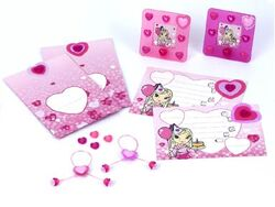 10081 Heart Birthday Pack
