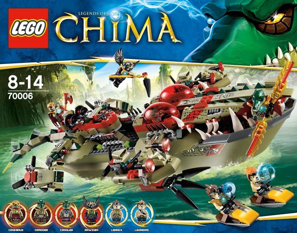 70006 cragger 39 s command ship lego legends of chima wiki - Chima saison 2 ...