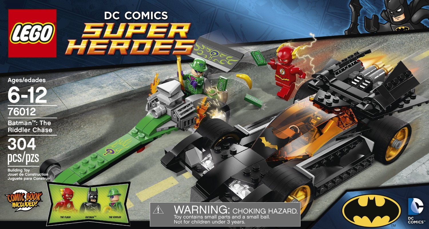 76012 Batman: The Riddler Chase | Lego Marvel and DC ...