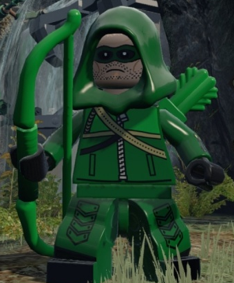 GREEN ARROW dc Superhero Oliver Queen Custom Printed by MinifigFX ...