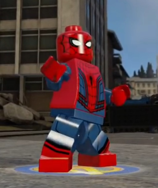Spider man civil war lego marvel and dc superheroes - Lego spiderman 2 ...