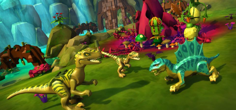 Build A Dinosaur Game Online
