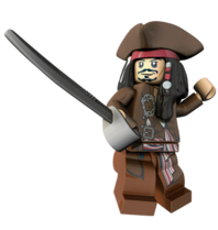 Lego-Captain Jack Sparrow