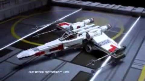 New Lego Star Wars Commercial X-wing vs TIE