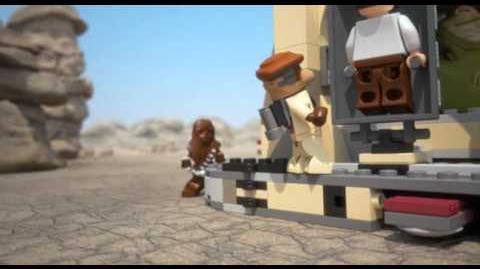 Lego 9516 Jabbas Palace - 3D Review