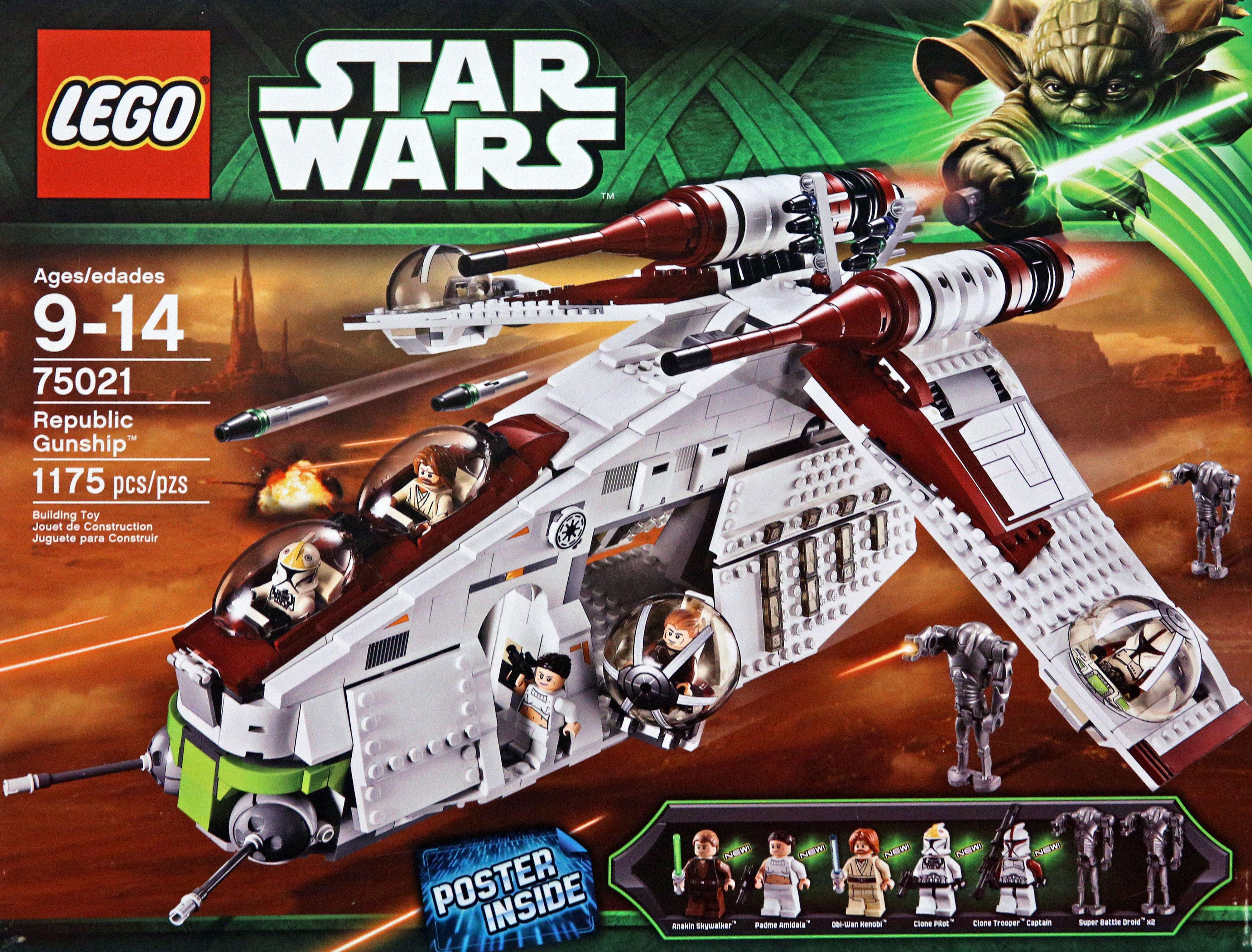 Lego Star Wars Building Instructions Republic Gunship 75021