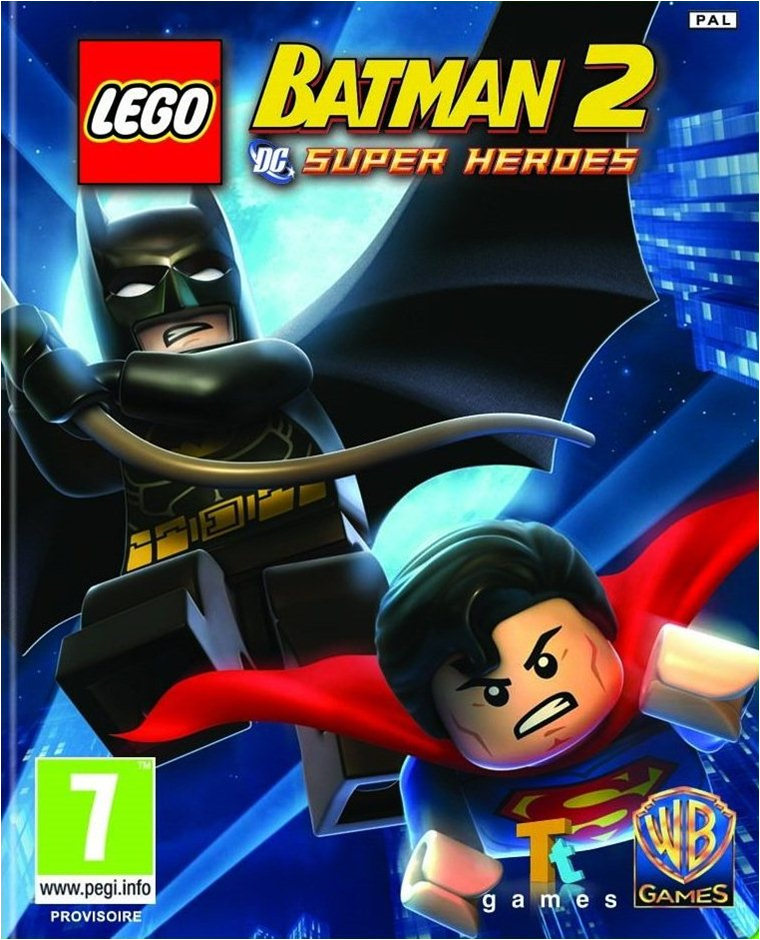 Jack Red's Hell: Jack Red reviews Lego Batman Trilogy