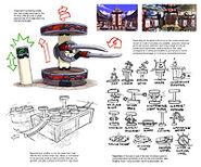Lu monastery sketches 1