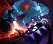 Dragonmaw Chasm Racing Key-Visual