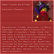 Vanda Darkflame