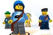 LEGO Universe Minifigs