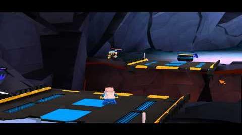 LEGO Universe Weird Bug on Crux Prime - LegoVideoz
