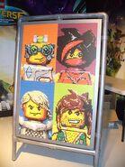 Lego Universe Mosaic