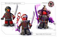 Shinobi progression
