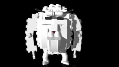 The elusive LEGO yeti!