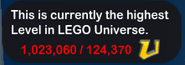 One Million U-Score