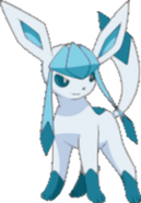 Shiny Glaceon BW2