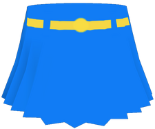 Supergirl Alpha Short Skirt