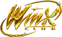 Winx Club Logo Gold