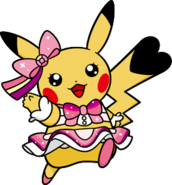 025 Pikachu Pop Star DW Shiny