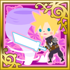 Cloud Strife Finishing Touch SR+